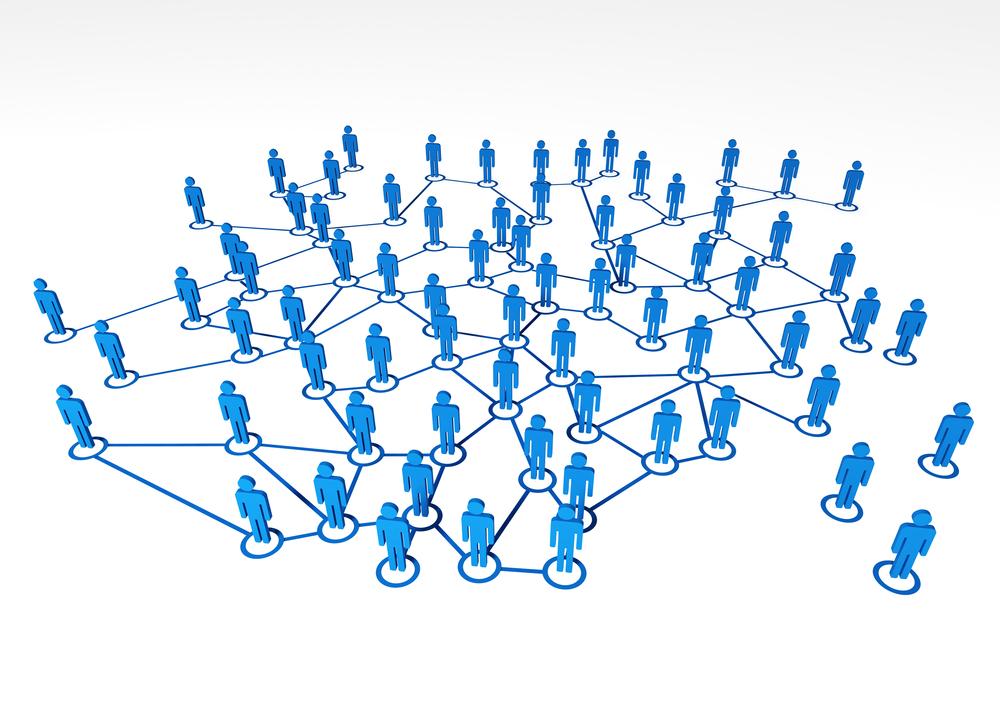 Virtaul network of people