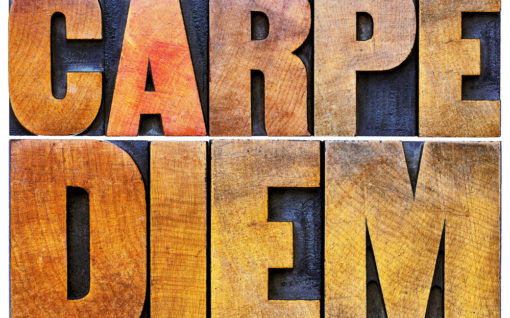 The words Carpe Diem