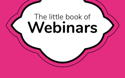 Cover of the Little book of Webinars