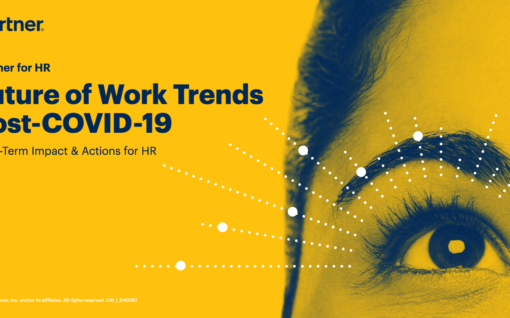 Cover of report Future of Work Trends Post-COVID-19: Long-Term Impact & Actions for HR